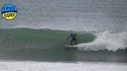 Olas y Surf en Laredo. Domingo 10 de Febrero 2019 frussurf