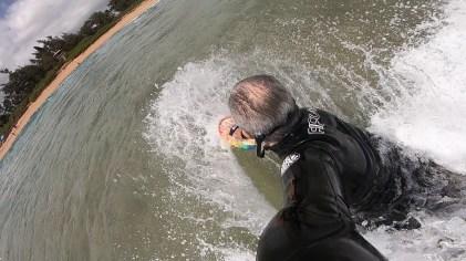 Ken Hughes Bodysurf Handplane Hawaii 4