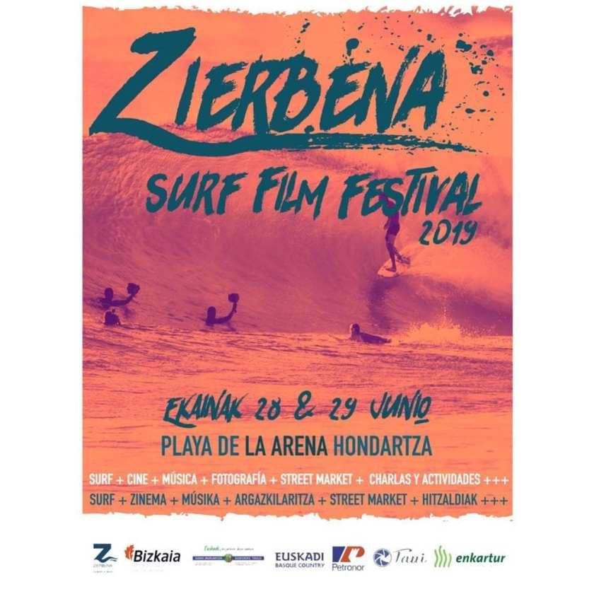 Cartel zierbena surf film festival 2019