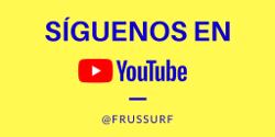 Siguenos en youtube frussurf