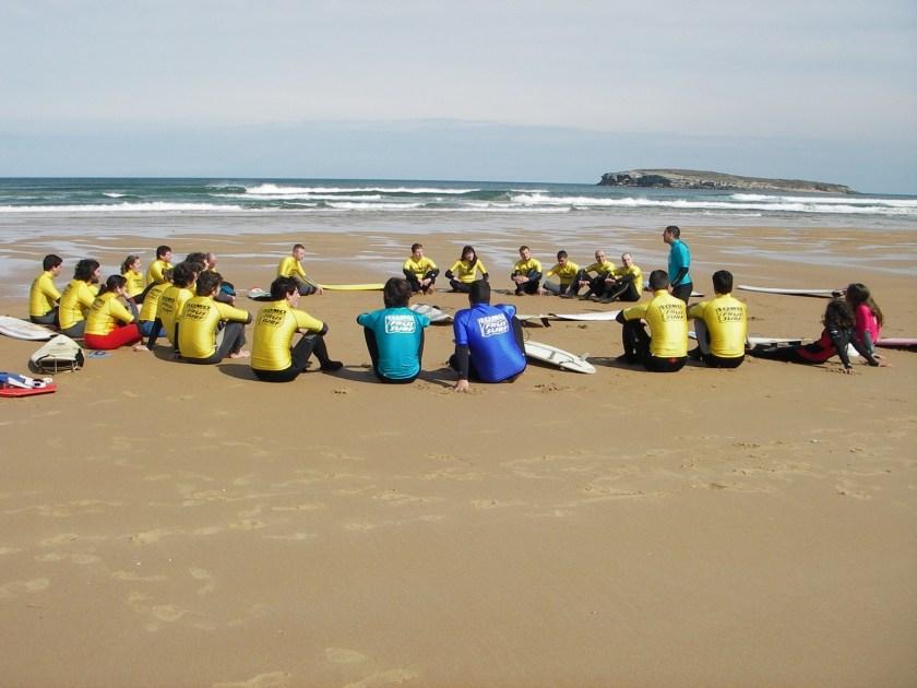 escuela de surf frussurf somo 2005