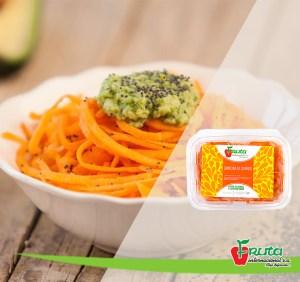 Spaghetti de zanahoria
