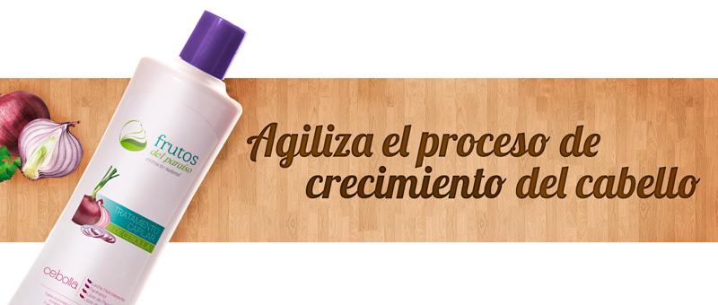 Shampoo y tratamiento de cebolla en Medellín, para agilizar el proceso del crecimiento capilar