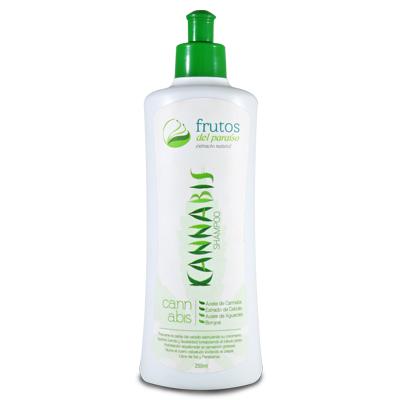 shampoo de cannabis Frutos del Paraíso