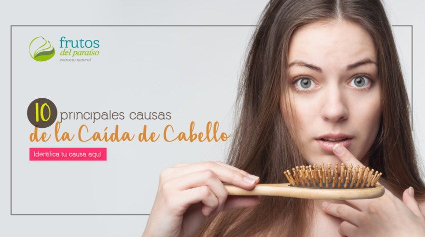 Principales causas de la caída del cabello