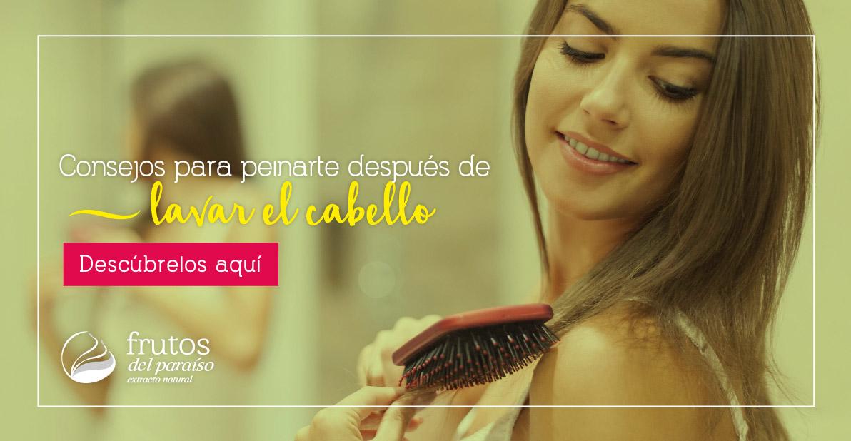 Consejos para peinar el cabello después de lavarlo