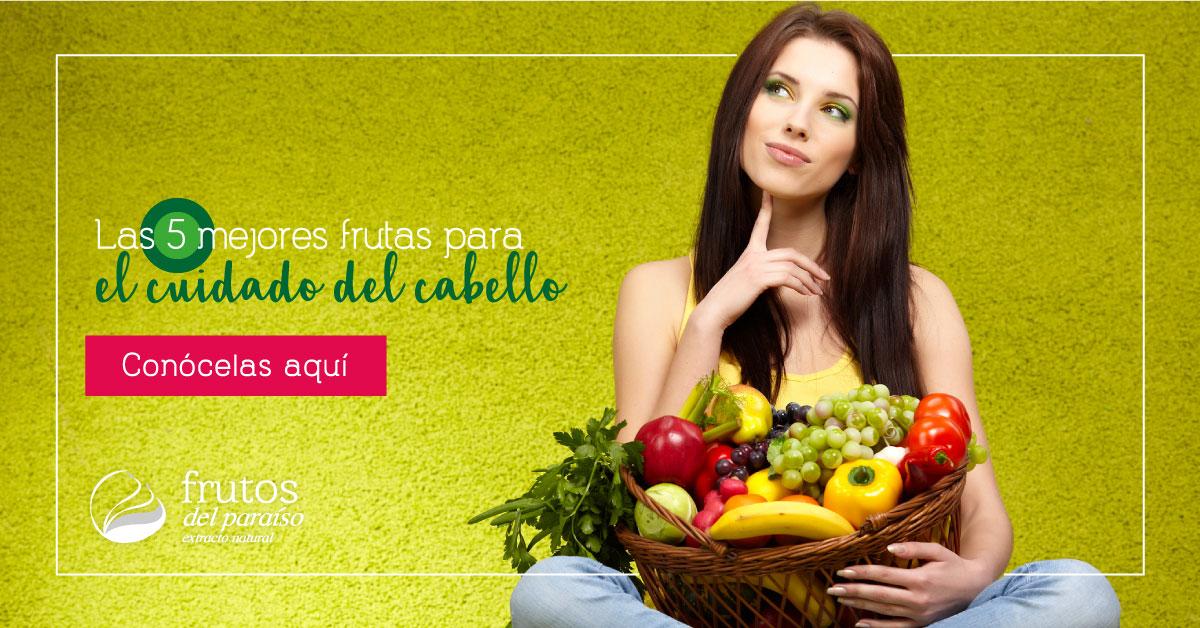 Frutas para el cuidado capilar