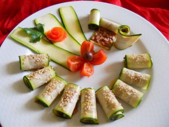 spirelle di zucchine