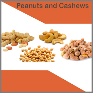 Peanuts and Cashews