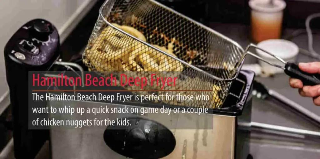 Why You Choose The Hamilton Beach Deep Fryer