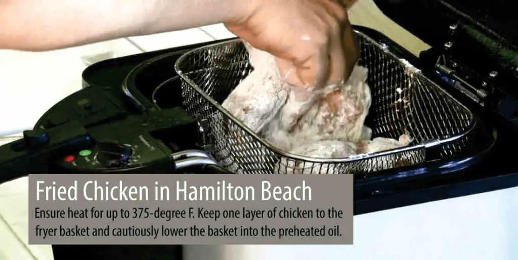 Recipes- Fried Chicken UsingHamilton Beach Deep Fryer