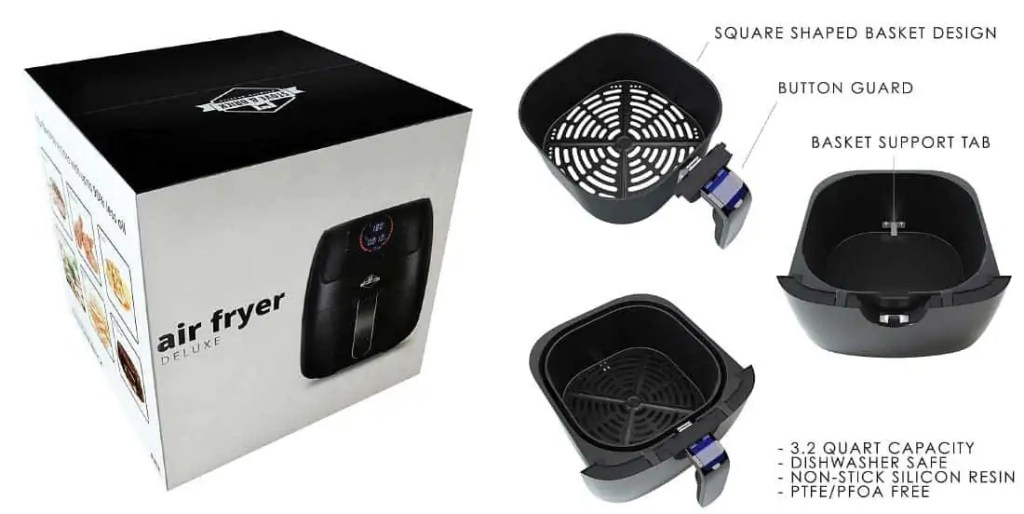 How the Stove & Brick air fryer works