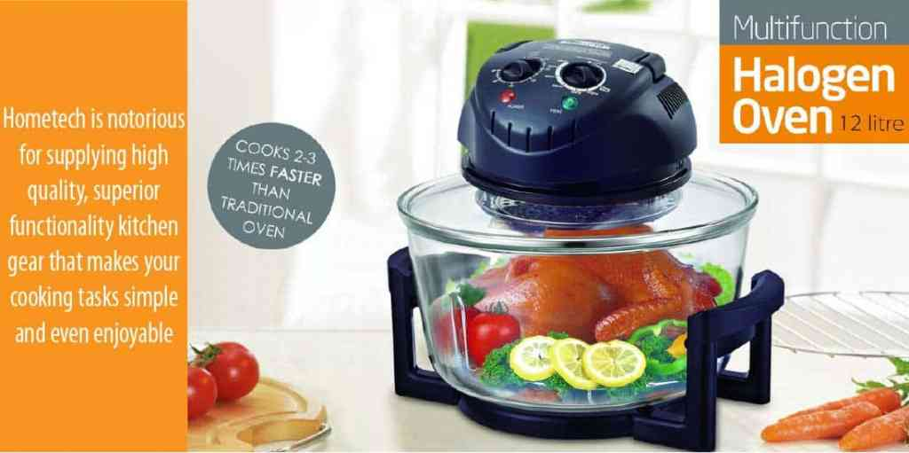 Reasons to Choose The Hometech HT-A11 Halogen Fryer