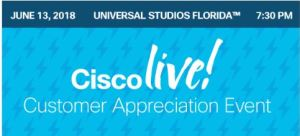 Cisco Live Update - CAE Artist Schedule - Fryguy's Blog