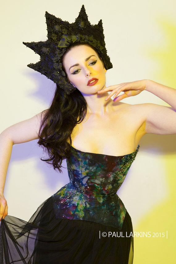 "Black Lace ""Mirkwood"" Tiara"