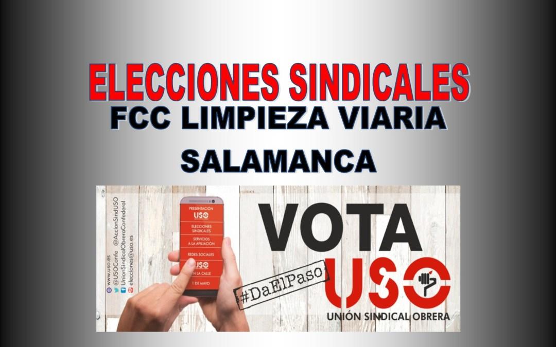 FS-USO ENTRA POR 1ª VEZ EN FCC LIMPIEZA VIARIA EN SALAMANCA