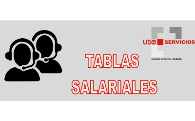 TABLAS SALARIALES CONTACT CENTER