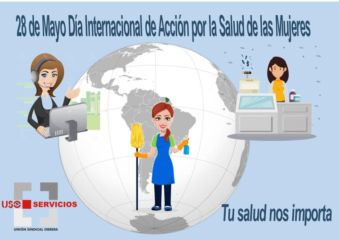 28 de Mayo día internacional de Acción por la Salud de las Mujeres