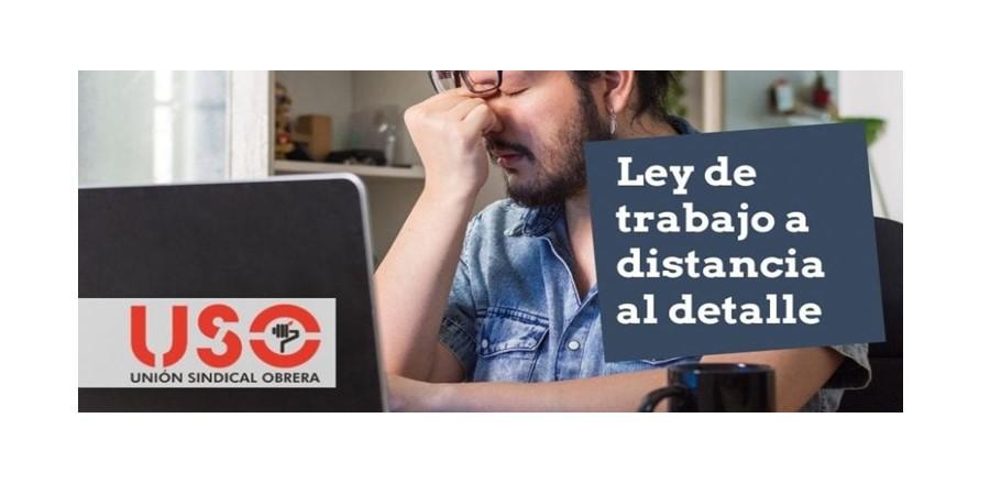 Trabajo a distancia. Real Decreto-Ley de 22 de septiembre