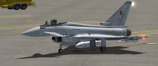 41 Sqn Repaint JF Typhoon