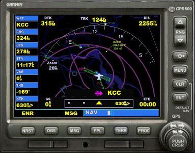 Welcome to Perfect Flight » FSX – Garmin 500 GPS Terrain