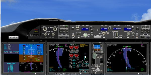 welcome to perfect flight fsx fs2004 boeing 787 flight deck panel rh fs2000 org boeing 787 flight crew operations manual boeing 787 aircraft manual