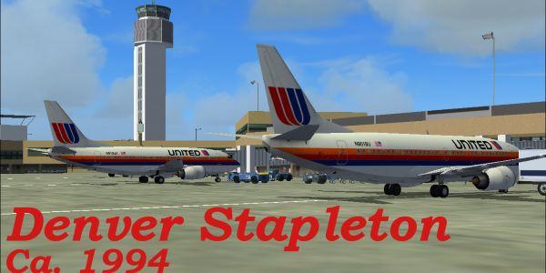 Welcome To Perfect Flight 187 Fs2004 Denver Stapleton