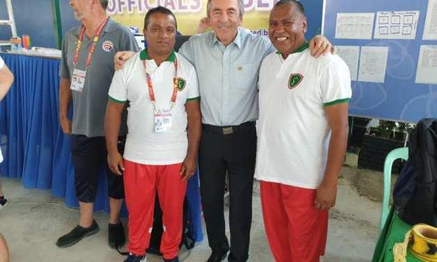 La Fédération Internationale de Pétanque rend hommage à Dolys RANDRIAMAROHAJA