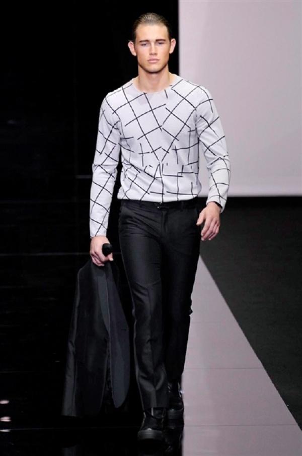 Emporio Armani SS15 Collection @ Milan Fashion Week: Men