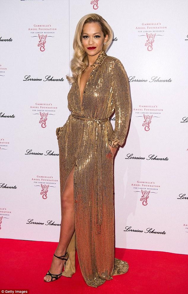 Rita Ora Performs at the Third Annual Gabrielle's Gala