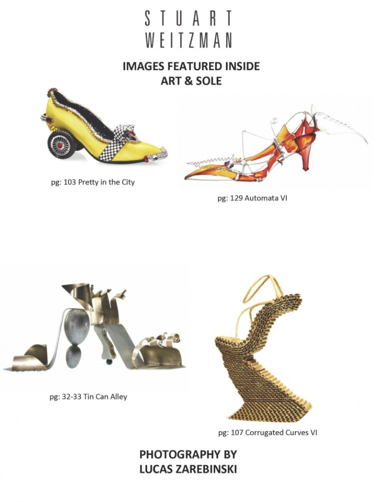 ART & SOLE A Timeless Holiday Gift For Shoe and Art Aficionados Everywhere By Jane Gershon Weitzman