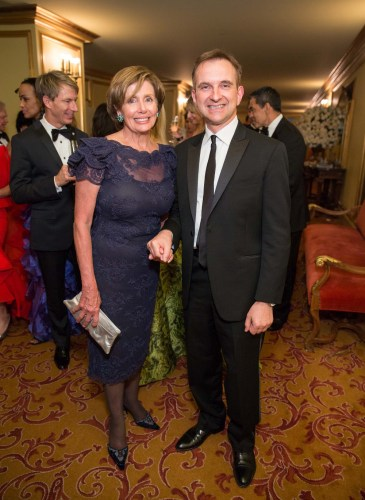 Nancy Pelosi, Mauro Battocchi