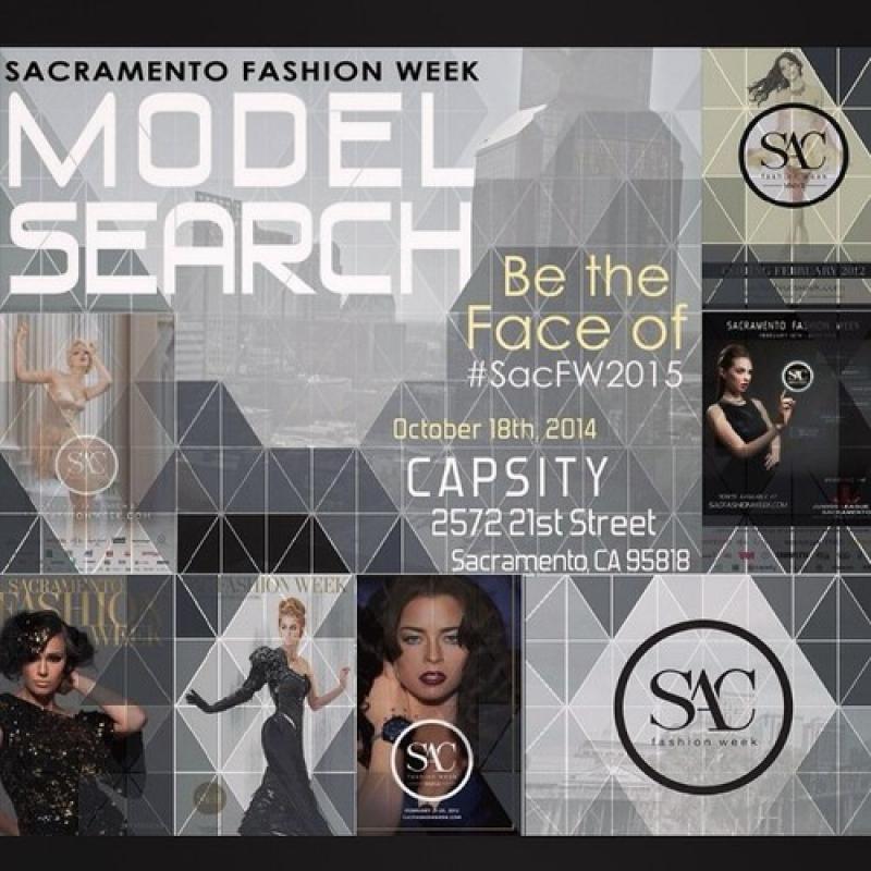Sacramento Fashion Week 2015 Cover Model Search