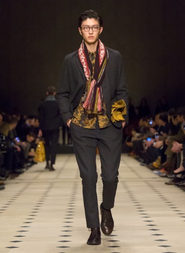 Burberry Prorsum Menswear Autumn_Winter 2015 Collection - Look 16