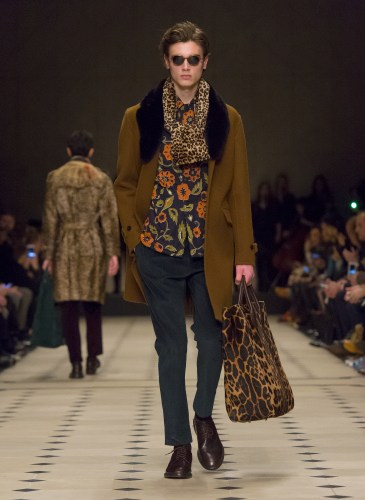 Burberry Prorsum Menswear Autumn_Winter 2015 Collection - Look 22