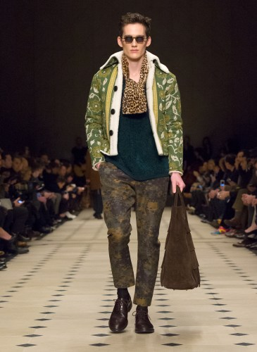Burberry Prorsum Menswear Autumn_Winter 2015 Collection - Look 23
