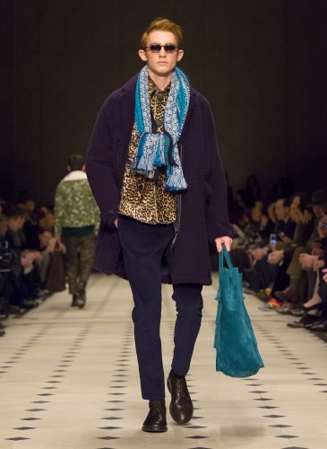 Burberry Prorsum Menswear Autumn_Winter 2015 Collection - Look 24