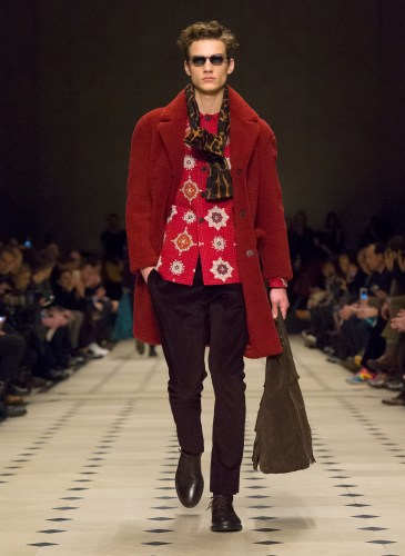 Burberry Prorsum Menswear Autumn_Winter 2015 Collection - Look 25