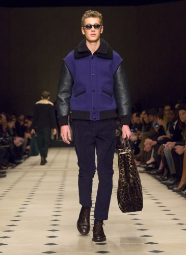 Burberry Prorsum Menswear Autumn_Winter 2015 Collection - Look 30