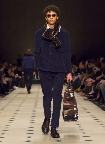 Burberry Prorsum Menswear Autumn_Winter 2015 Collection - Look 31
