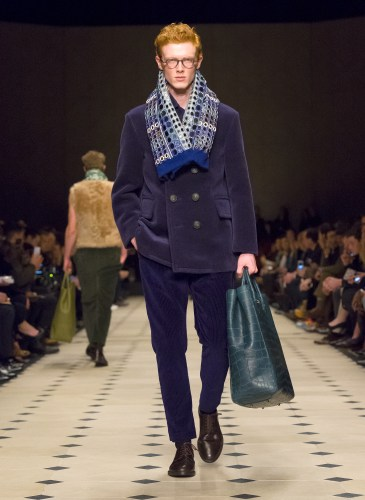 Burberry Prorsum Menswear Autumn_Winter 2015 Collection - Look 37
