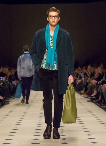 Burberry Prorsum Menswear Autumn_Winter 2015 Collection - Look 43