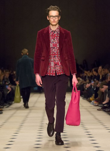 Burberry Prorsum Menswear Autumn_Winter 2015 Collection - Look 44