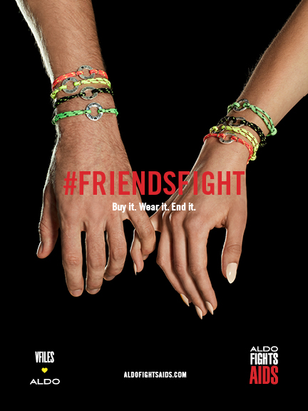 ALDO FIGHTS AIDS