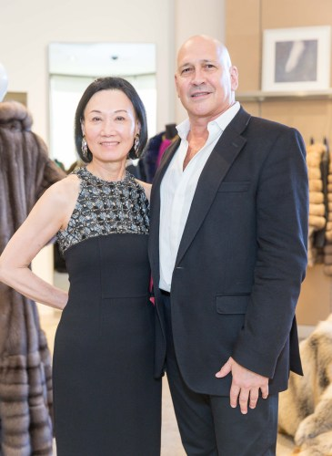 2014 BAAA Benefit & Fashion Show Launch Party with Carmen Marc Valvo
