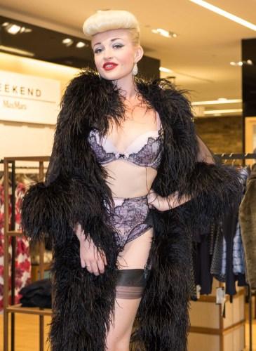 Dita Von Teese Appearance at Bloomingdales