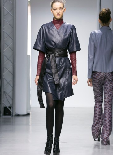 DROMe Ready to Wear Fall Winter 2015 fashion show in Paris