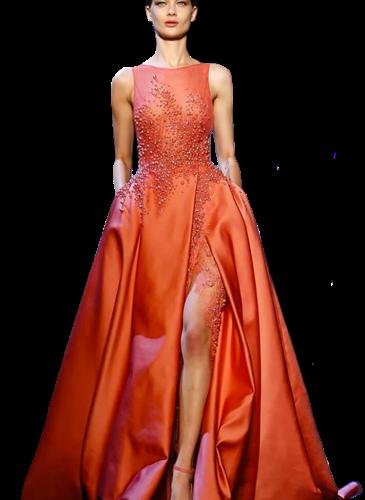 Elie Saab Orange