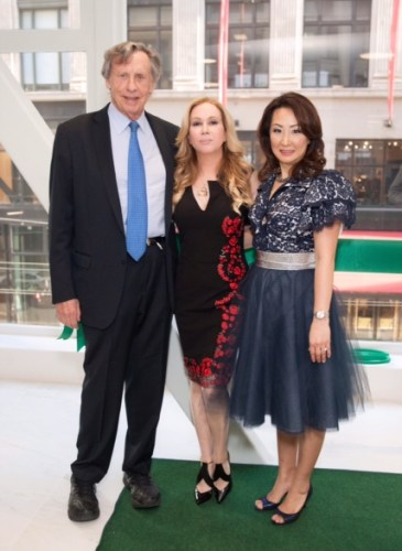 Richard Blum, Sophie Azouaou, Lisa Kang