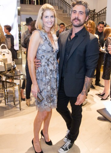 Burberry celebrates the opening of its flagship store in San Francisco